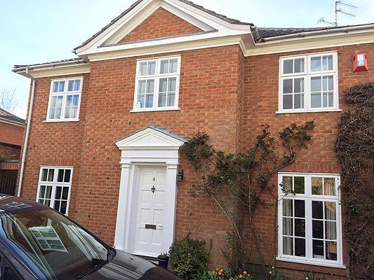 Custom Choice Windows of Peterborough Georgian Style Casement Windows and Front Door image
