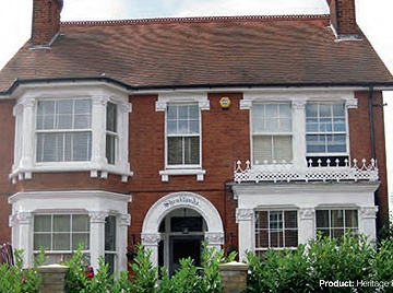 Custom Choice Windows of Peterborough Sliding Sash Windows House Front image
