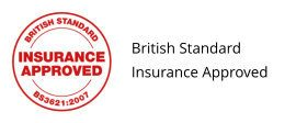British Standard BSI Insurance Approved Logo