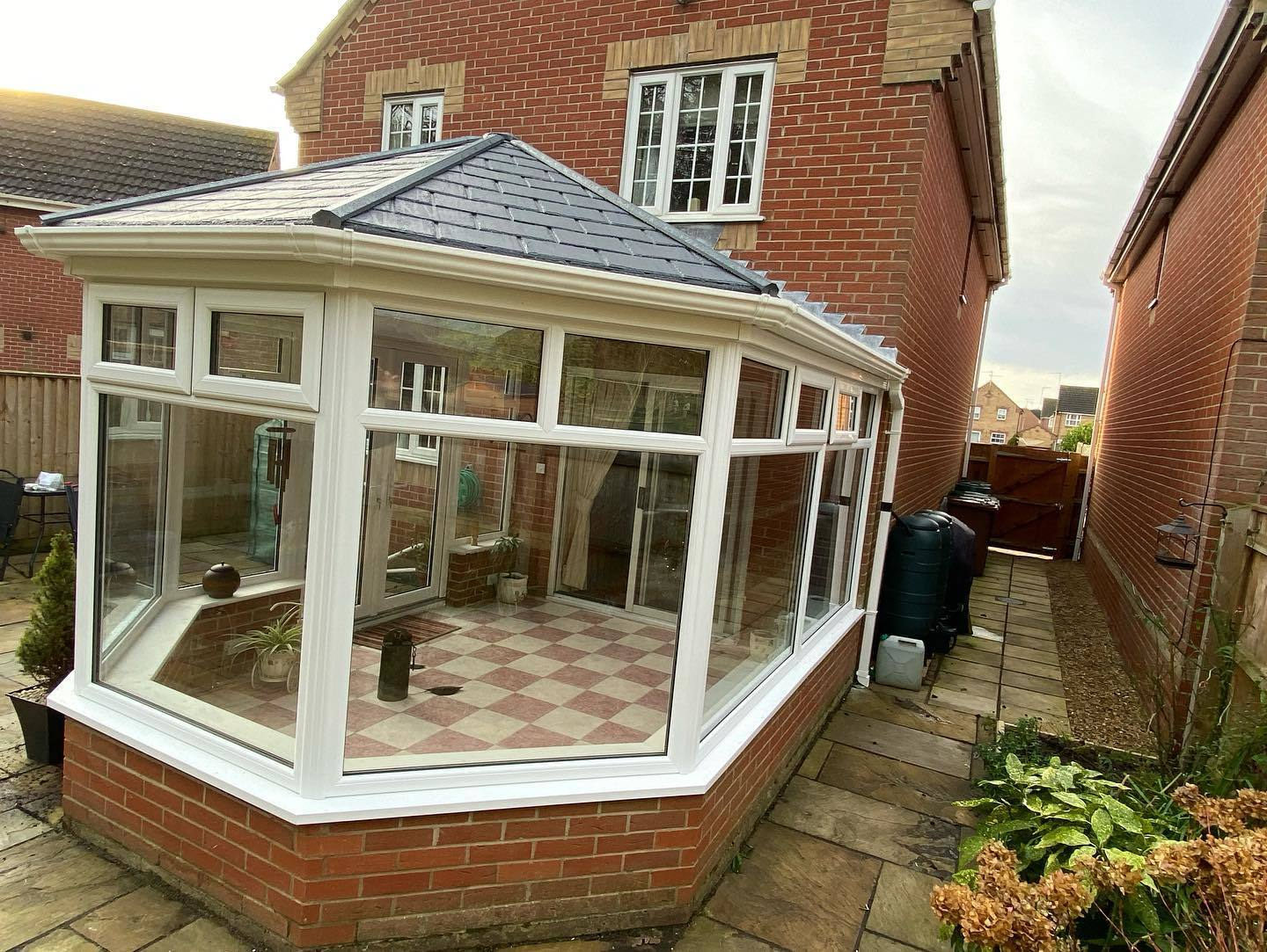 Custom Choice Windows Ultra380 Roof Conservatory Right Side View