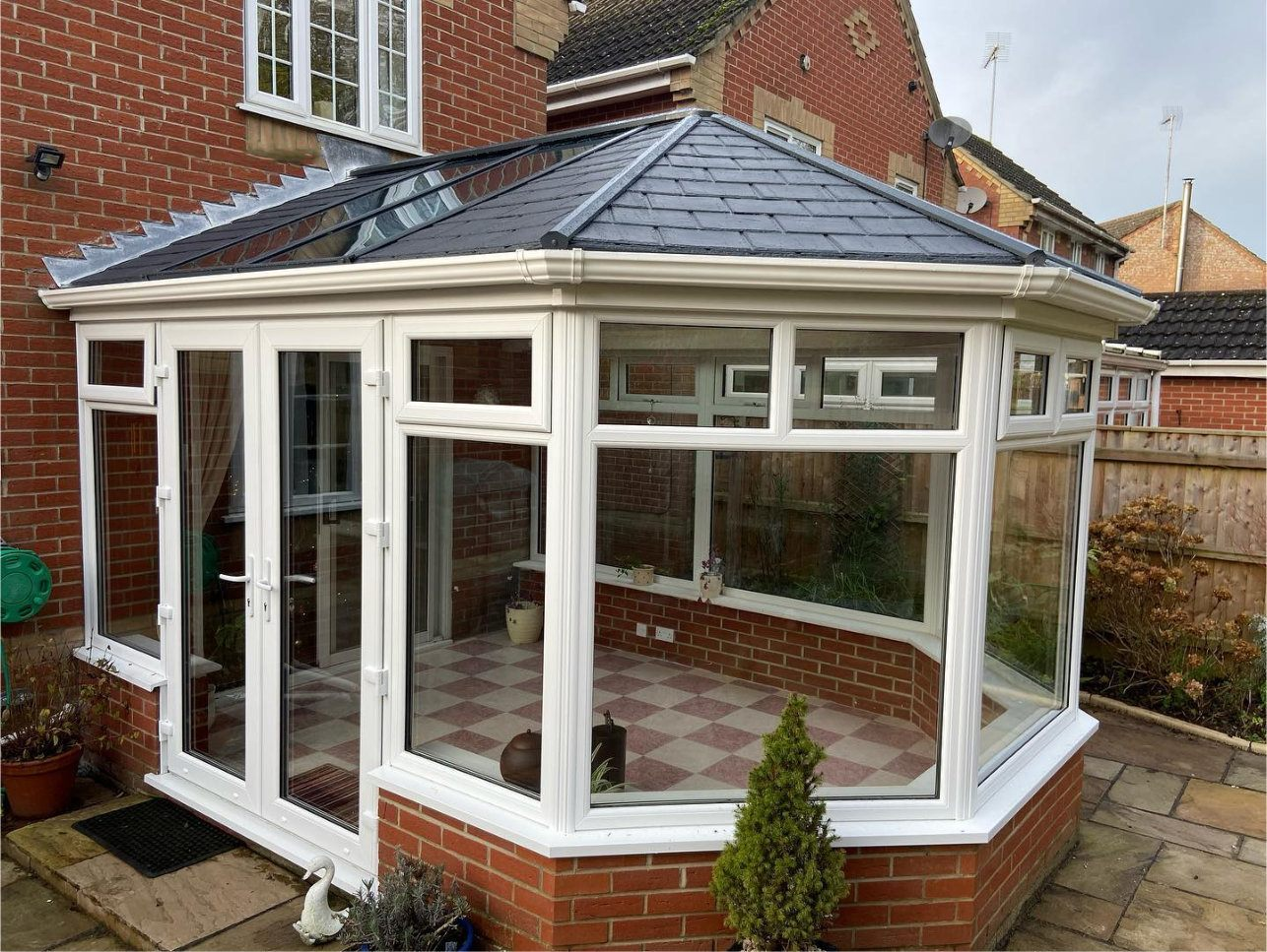 Custom Choice Windows Ultra380 Roof Conservatory