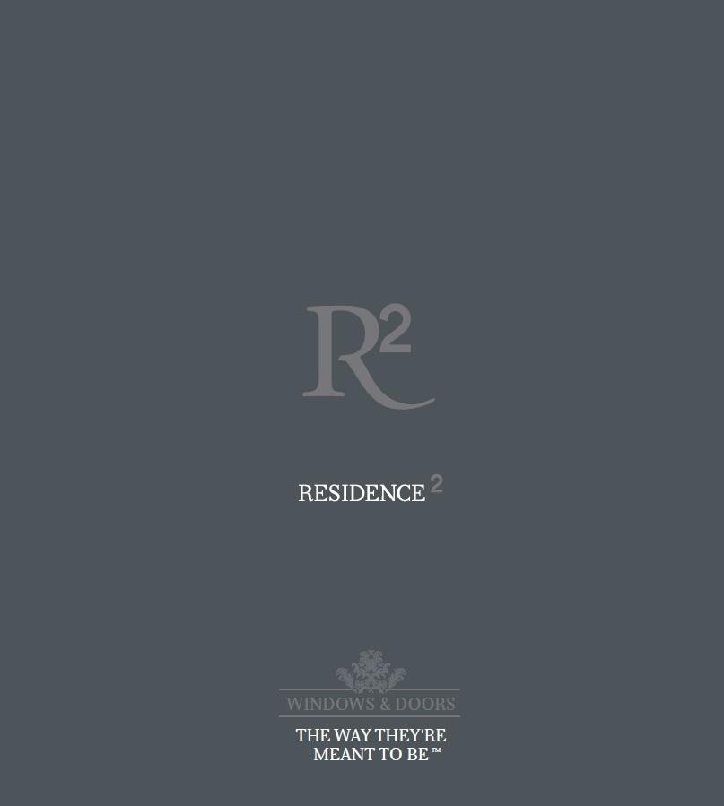 Residence R2 Brochure