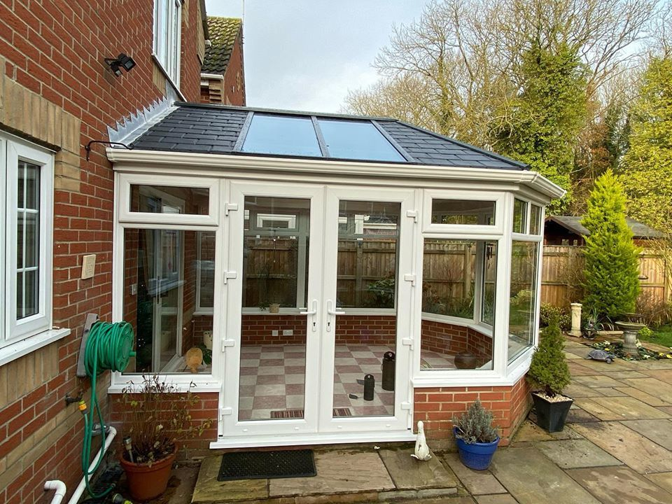 Custom Choice Windows Ultra380 Roof Conservatory Main Photo