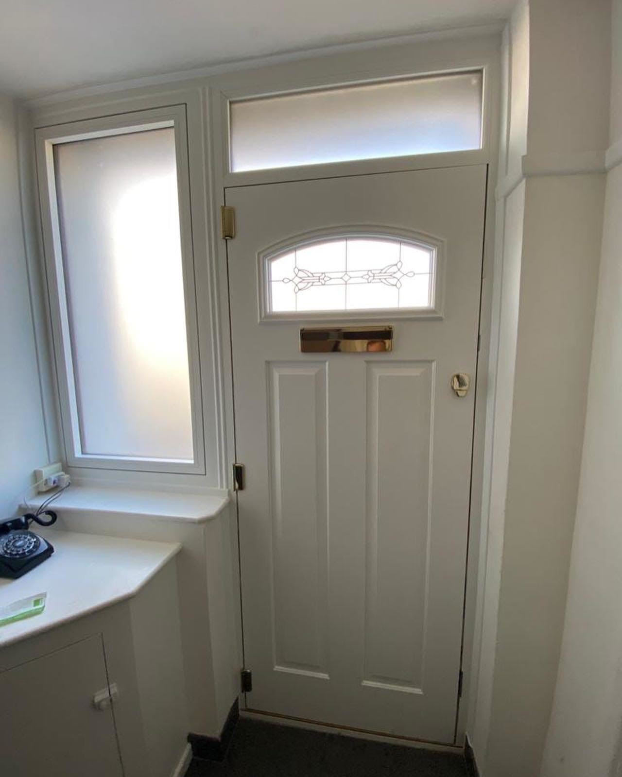 Replacement front door internal